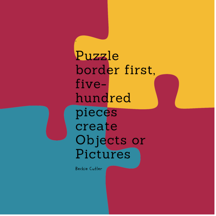 Puzzle border first,five-hundred pieces createObjects or Pictures