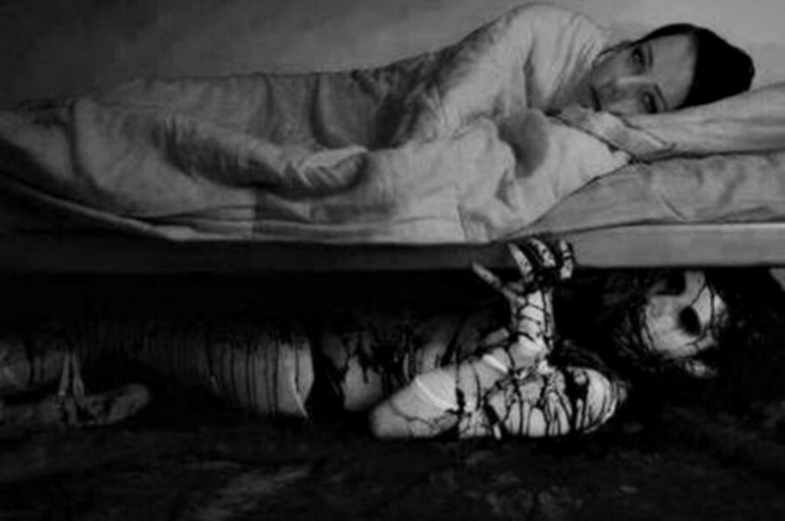 Image result for pictures of monsters under the bed