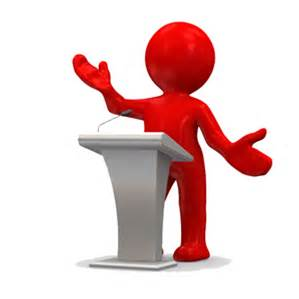 Image result for Picture of an AA meeting Speaker